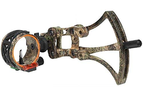 Fuse Helix Slider Single Pin Quick-Adjust Sight (Realtree XTRA) by Fuse