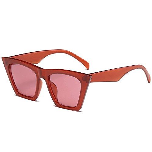 Homme Uv400 Rouge C3 Femme Qbling Femmes Marque De Eye Classique Cat Retro Technolog Mode Designer Soleil Lunettes aOwBgvq