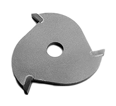 "Southeast Tool SL080-3 Carbide-Tipped Slotting Cutter, 3 Wing, Cutter Only, 1-7/8"" Diameter X 5/16"" Bore, .080"" Kerf"