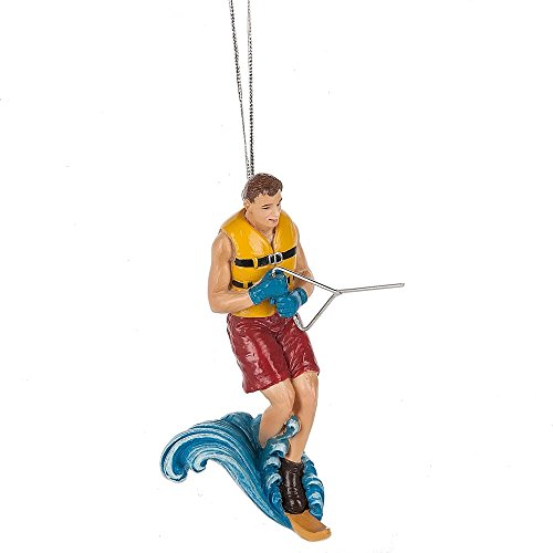 Water Skiing Ornament