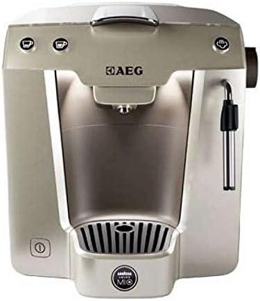 AEG Favola plus LM 5200 - Cafetera de monodosis con accesorio para hacer espuma de leche, color plateado: Amazon.es: Hogar