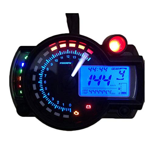 6c2cf7f5 2017 15000rpm Modern KOSO RX2N Similar LCD Digital Motorcycle Odometer  Speedometer Adjustable MAX 299KM/H