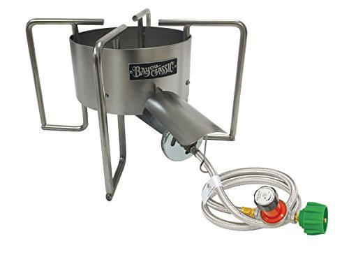 Bayou Classic SAB6 22'' Stainless Banjo Cooker by Bayou Classic
