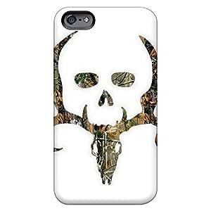 Fashion phone back shell skin Impact iphone 4 /4s - bone collector camo hjbrhga1544