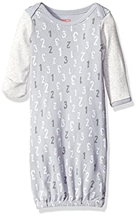Amazon.com: Skip Hop SkipHop Baby Gown, Grey, One Size: Clothing
