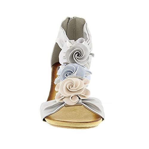 Silver Patrizia Multi Harlequin Women's Sandals tORwYqt