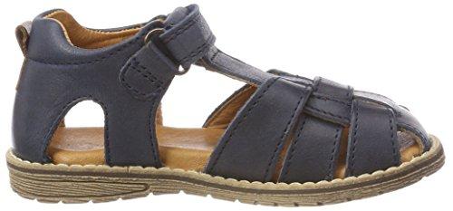 Froddo Children Sandal G3150101, Sandalias con Punta Cerrada Para Niños Azul (Dark Blue)