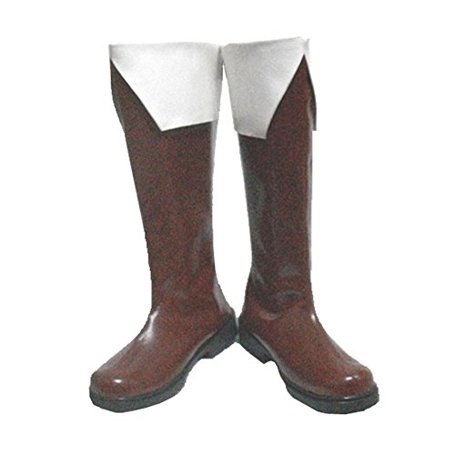 Hetalia France Cosplay Axis Powers Shoes North Italy PU Boots 42 -