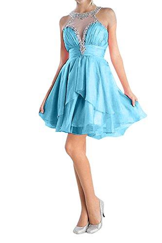 Brautmutterkleider La Fesltichkleider Chiffon Promkleider Langes Blau Spitze Partykleider mia Braut Abendkleider xXZnqAXrU