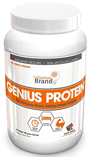 Genius Protein Powder Natural Whey Protein Isolate Import It All