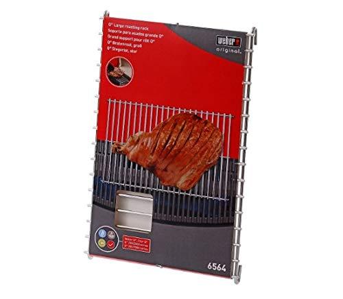 Weber 6564 Original Q Roast Rack for Grilling, Large
