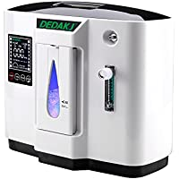Vogvigo Air Purifier Portable Oxygen Concentrators Generator 1-6L/min Adjustable Oxygen Concentrator Generators Home Oxygen Concentrator Oxygen Machine Not Battery Powered
