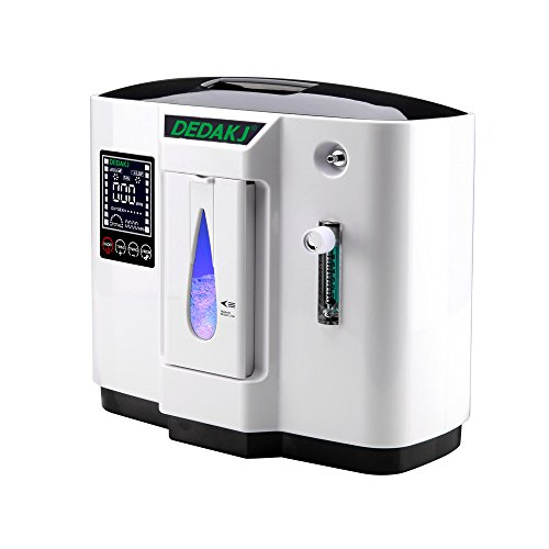 Portable Oxygen Concentrator 1-6L/M Oxygen Generator 30-90% (±3) Oxygen Concentrator 24hs Works For Home Air Purifier 110V by ZSWELL (Image #2)