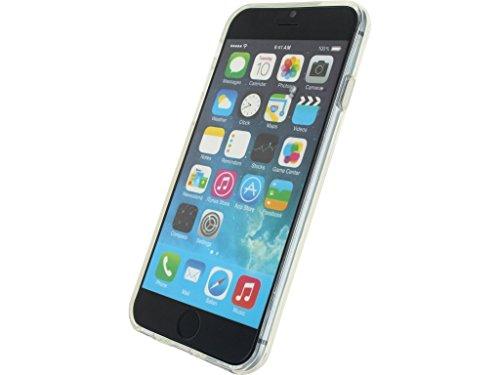 Etui de protection pour telephone Coque gel silicone Apple iPhone 6 / 6s Transparent