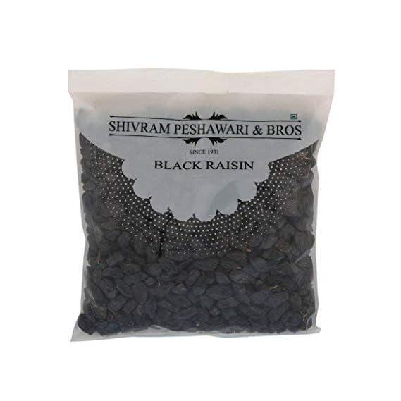 Shivram Peshawari & Bros Black Raisin/Kali Kishmish 250 grams