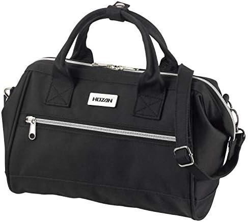 ホーザン(HOZAN) バッグ ツールバッグ B-713 工具などの持ち運びに ブラック ショルダーベルト付