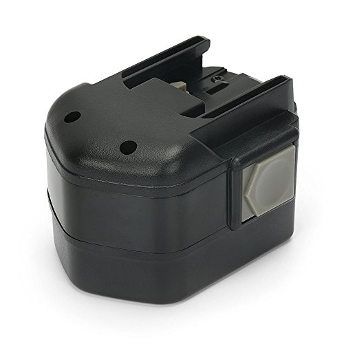 PowerGiant 12V 3.0Ah NiMh Replacement Battery for Milwaukee 48-11-1900 48-11-1967 48-11-1950 48-11-1970 48-11-1960 B12 ()