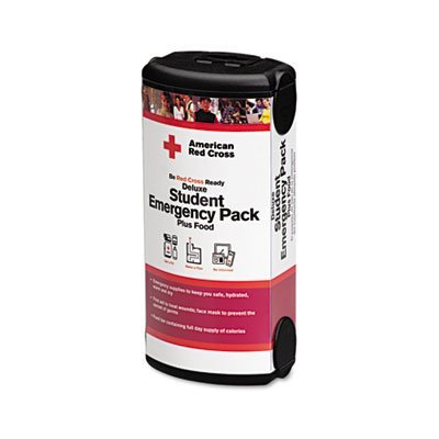 First Aid Only Deluxe Student Emergency Pack Plus Food