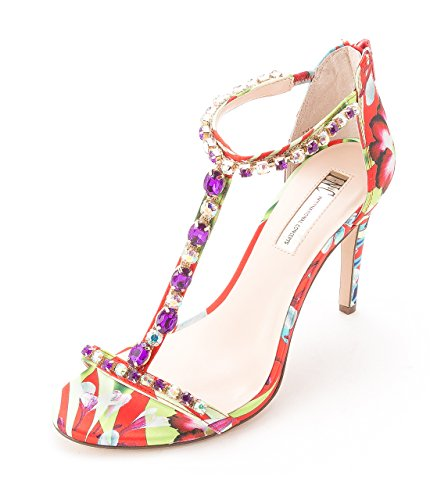 INC International Concepts - Sandalias de vestir para mujer Tangerine Multi