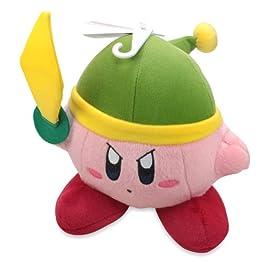 Sword Kirby Plush | 6 Inch | Kirby Adventure Plush 6