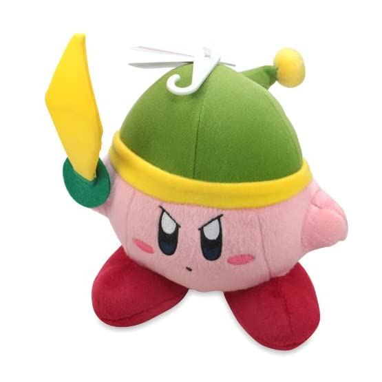 Sword Kirby Plush | 6 Inch | Kirby Adventure Plush 1