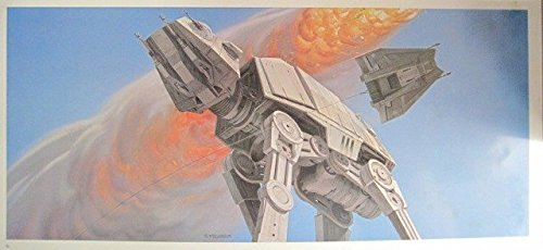 Star Wars Empire Strikes Back Frameable Fine Art Print #10 AT-AT Rodeo 1980 RALPH MCQUARRIE