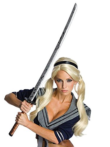 Rubie's Women's Sucker Punch Babydoll Novelty Sword and Scabbard, Multi, One Size -