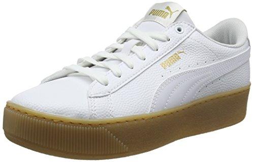 Mujer Platform Vikky Para puma puma Blanco Zapatillas White 01 White Puma Vt ZqXxnF1F
