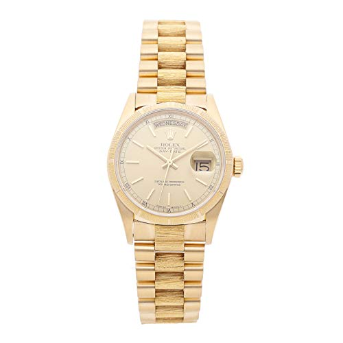 Rolex Day-Date Mechanical (Automatic) Champagne Dial Mens Watch 18078 (Certified Pre-Owned) ()