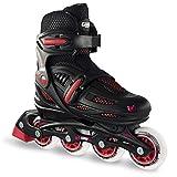 Crazy Skates Adjustable Inline Skates for Boys | Beginner Kids Roller Blades | Available in Two Colors