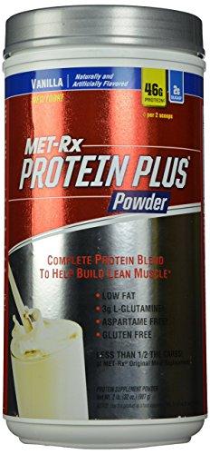 Met Rx  Protein Plus Powder Vanilla  2 Pound