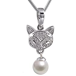 Precious Cat Sterling Silver Memorial Keepsake Necklace for Loss of Loved One - Extra Small Holds 1 Cubic Inch of Ashes - Silver Cremation Jewelry for Ashes - Engraving Sold Separately