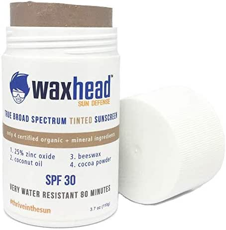 Sunscreen & Tanning: Waxhead Tinted