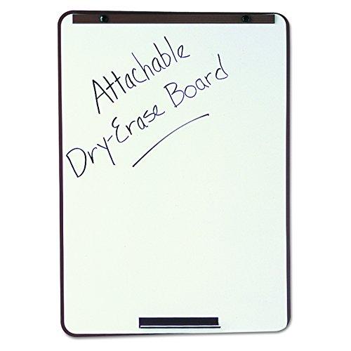 (Quartet 210000000 21E-7 Oval Dry-Erase Board, 29 x 40, Metallic Bronze Finish Steel, Framed)
