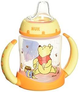 NUK Disney Winnie the Pooh 5 Ounces Learner Cup Silicone Spout, 6+ Months