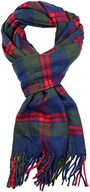Achillea Soft & Warm Tartan Plaid Checked Cashmere Feel Winter Scarf Un