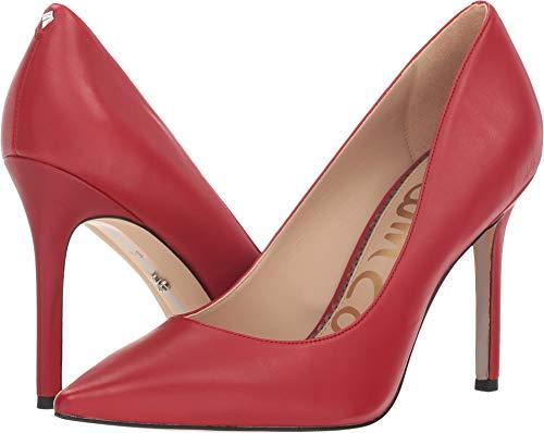 (Sam Edelman Women's Hazel Pump, Deep Red Leather, 9.5 W)