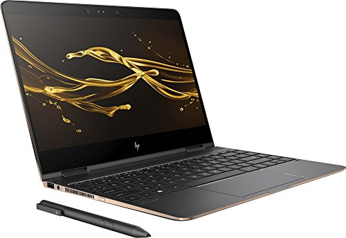 "Spectre x360 2-in-1 13"" 4K Ultra HD Touch Laptop 7th Gen Intel Kaby Lake Core i7-7500U 16GB Ram 512GB SSD Thunderbolt Bluetooth Windows 10 HP Active Pen Plus Best Notebook Stylus Pen light"