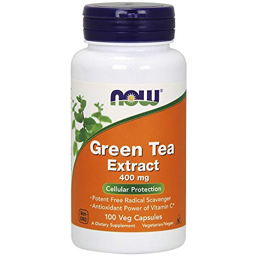 - NOW Supplements, Green Tea Extract 400 mg, 100 Veg Capsules