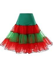 DRESSTELLS® Women's Vintage Tutu Petticoat Crinoline Rockabilly Underskirt for 50s Dress