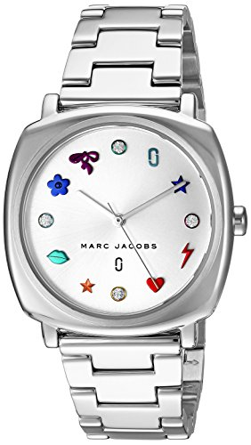 Marc Jacobs Women's 'Mandy' Quartz Stainless Steel Casual Watch, Color:Silver-Toned (Model: MJ3548) from Marc Jacobs