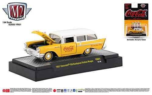 M2 Machines Coca-Cola Release YR01 1957 Chevrolet 150 Handyman Station Wagon ()