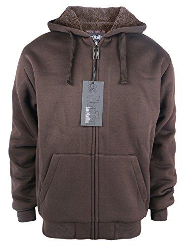 Brown Hooded Fleece - 7