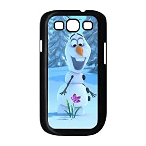 Samsung Galaxy S3 9300 Cell Phone Case Black Olaf VHG Wholesale Phone Cases