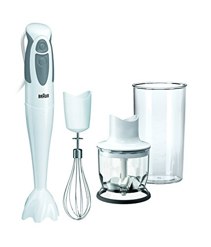 Braun MQ325 Hand Blender with Chopper and Whisk, 550 W (2...