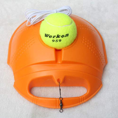 Price comparison product image TryMarket(TM) Tennis Ball Singles Training Practice Balls Back Base Trainer Tools With Ball
