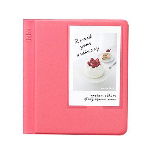 2NUL Fujifilm Instax Instant Camera Mini Photo Album (Coral Pink)