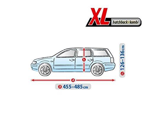 Ganzj/ährige Universelle Autoabdeckung Kegel Blazusiak Basic Autoplane XL HTB//Kombi Vollgarage Ganzgarage 4DBASICXL HK52