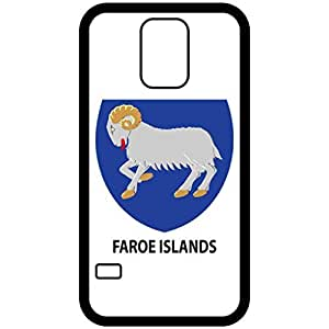 Faroe Islands - Coat Of Arms Flag Emblem Black Samsung Galaxy S5 Cell Phone Case - Cover wangjiang maoyi