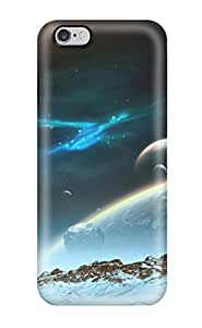 Waterdrop Snap-on Space Art Case For Iphone 6 Plus